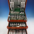 English King by Tiffany & Co. Sterling Silver Dinner Size Flatware Set 237 Pcs