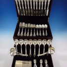 Royal Oak by Gorham Sterling Silver Flatware Dinner Set For 12 Service 108 Pcs