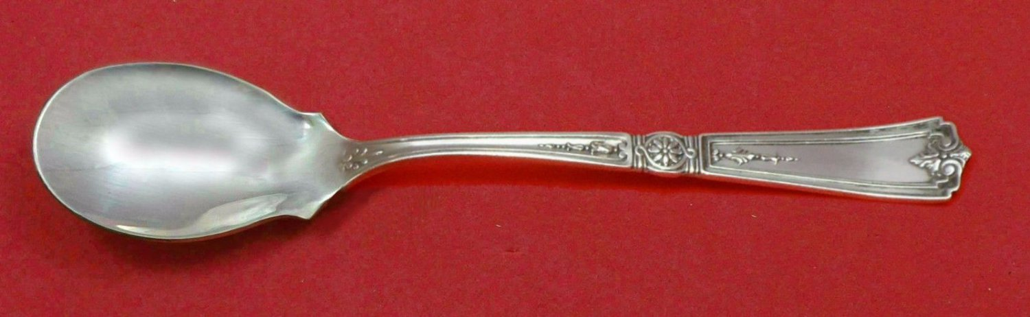 """Victorian by Durgin Sterling Silver Ice Cream Spoon Custom Made 5 3/4"""""""