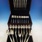 Classique by Gorham Sterling Silver Flatware Service For 8 Set 46 Pieces Modern