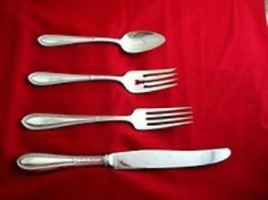 Edgeworth by Gorham Sterling Silver Regular Setting(s) 4pc