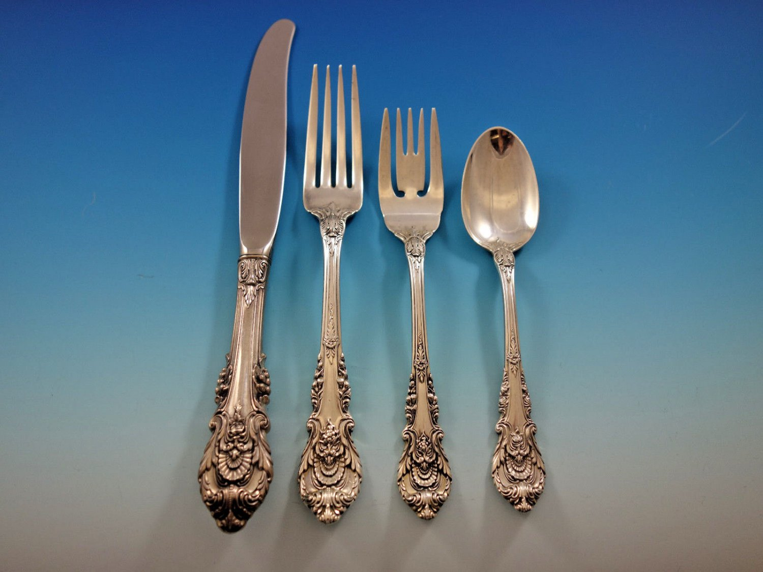 Sir Christopher by Wallace Sterling Silver Flatware Set for 8 Service 40 Pieces