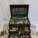 English King by Tiffany & Co. Sterling Silver Dinner Size Flatware Set 482 Pcs