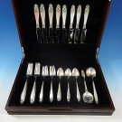Prelude by International Sterling Silver Flatware Set For 8 Service 40 Pieces