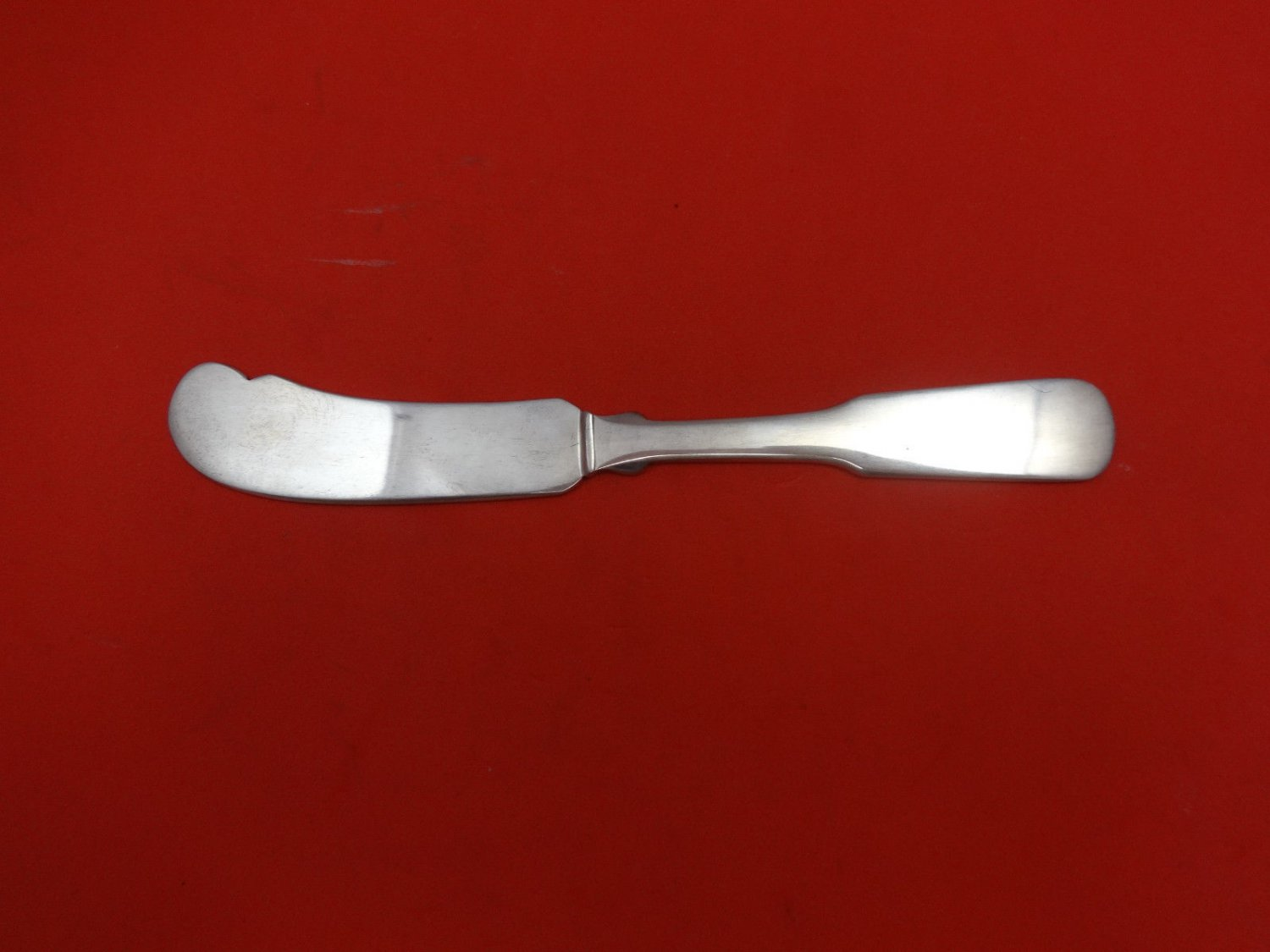 Colonial Fiddle by Watson Sterling Silver Butter Spreader FH 5 3/4""
