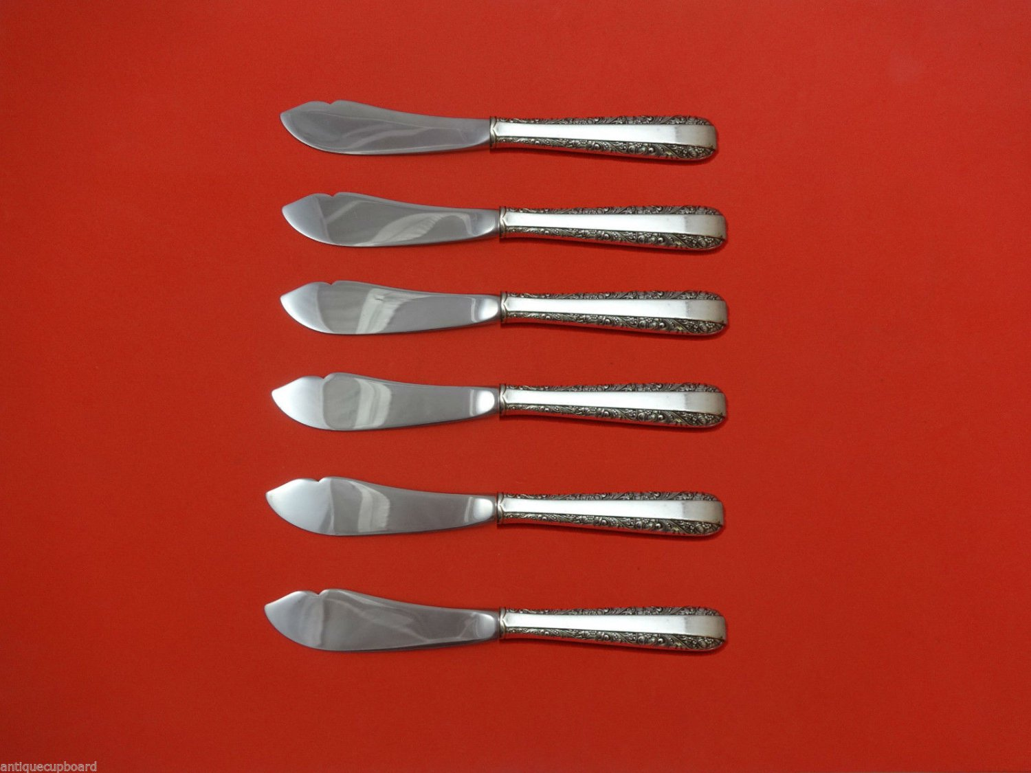 """Candlelight by Towle Sterling Silver Trout Knife Set 6pc. HHWS  Custom 7 1/2"""""""