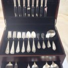 "Fontaine by International Sterling Silver Flatware Set Service 65 Pcs ""L"" Mono"