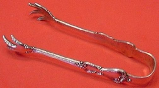 Marlborough by Reed & Barton Sterling Silver Sugar Tong 4 1/2""