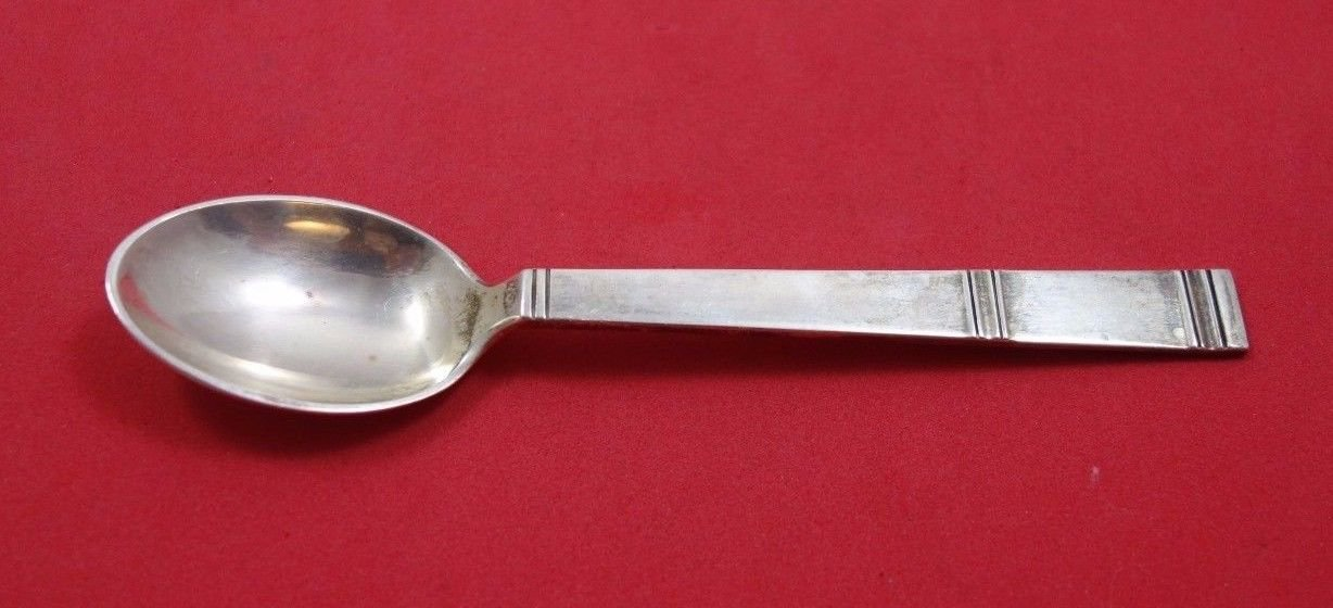 """Cardinal by Grann and Laglye Danish Sterling Silver Coffee Spoon 5 1/4"""""""