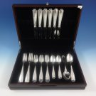 Marquise by Tiffany & Co. Sterling Silver Dinner Flatware Set 6 Service 30 Pcs