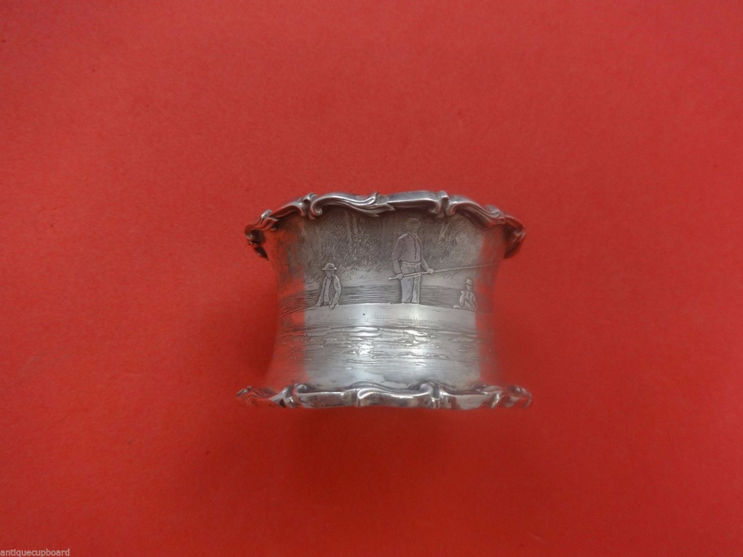 "Tiffany & Co. Sterling Silver Napkin Ring Engraved 1 1/2"" X 2 3/8"""