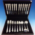 Melbourne by Oneida Sterling Silver Flatware Set For 12 Service 60 Pieces
