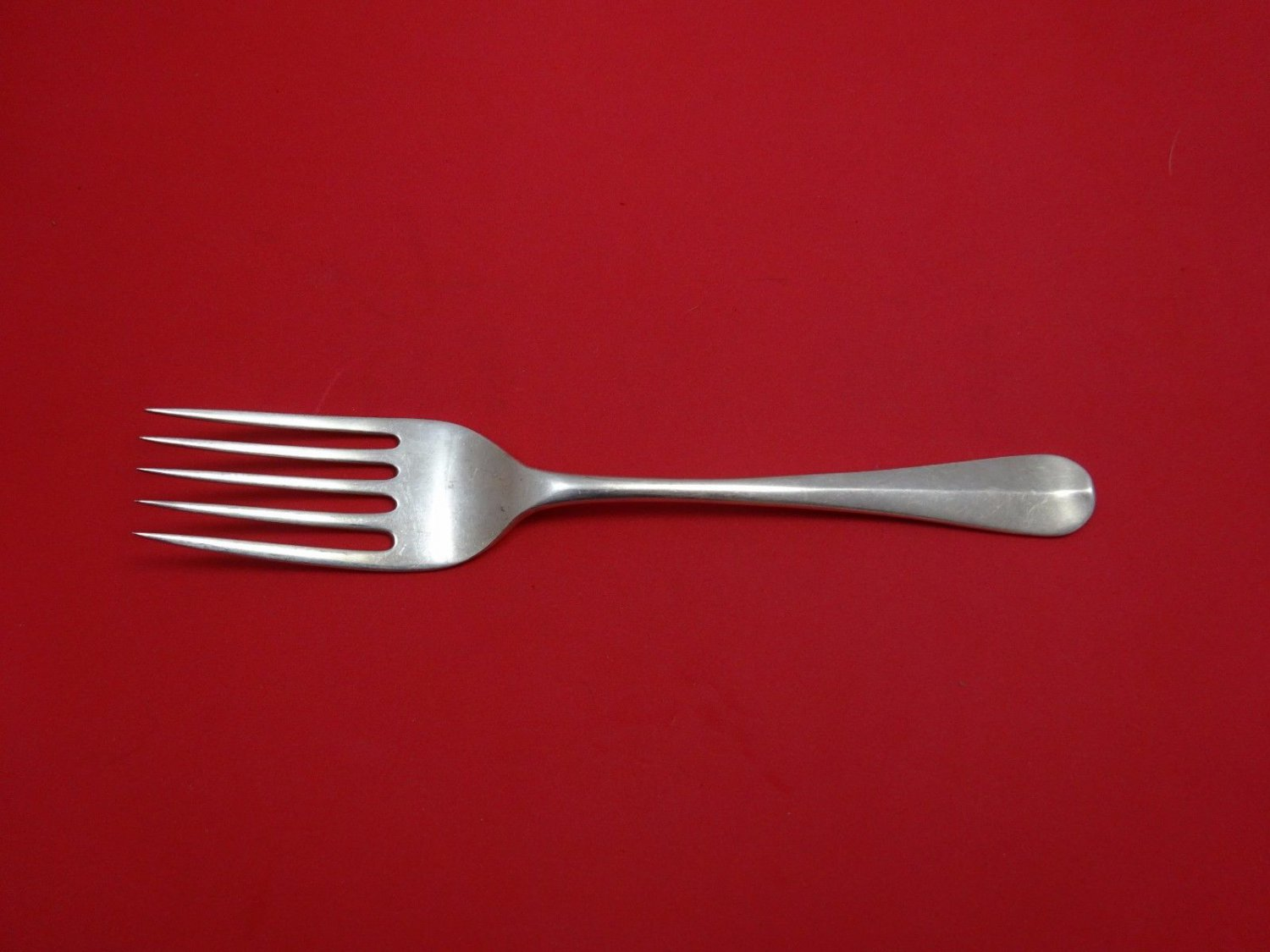 Rat Tail by Worcester English Sterling Silver Buffet Fork 5-Tine 9 1/4""
