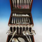 Windsor by W & S Sorensen Sterling Silver Danish Flatware Set Service 85 Pcs Mod