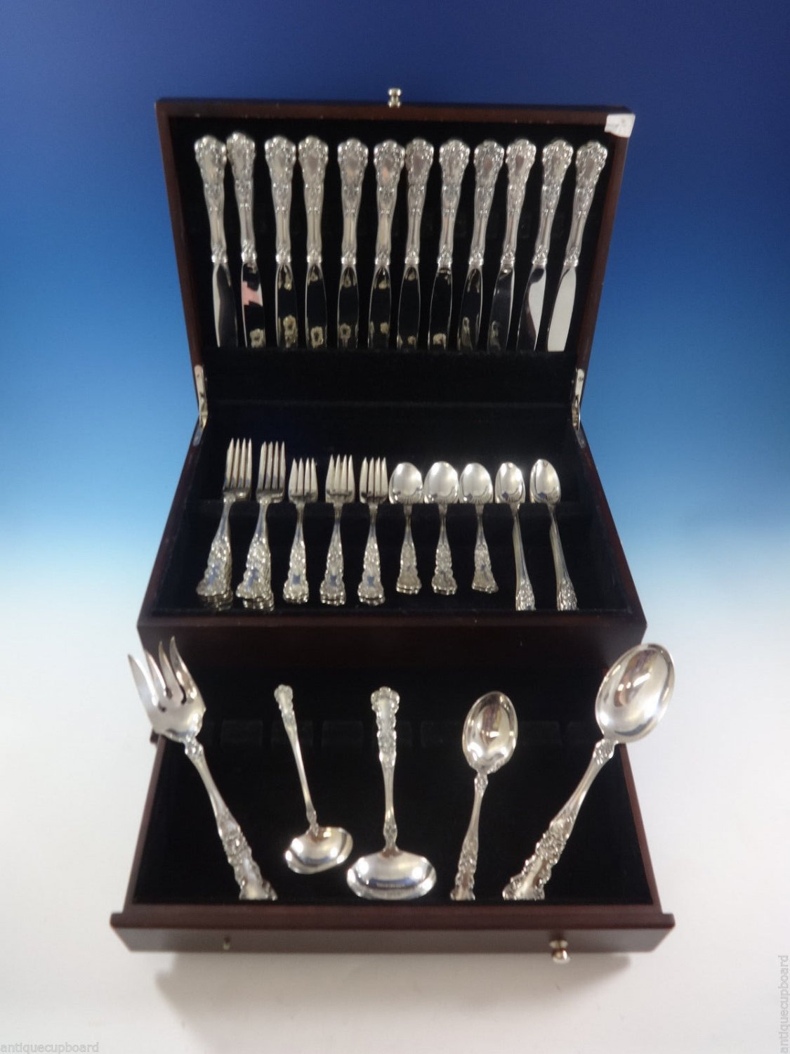 Buttercup by Gorham Sterling Silver Flatware Set For 12 Dinner Size 65 Pieces