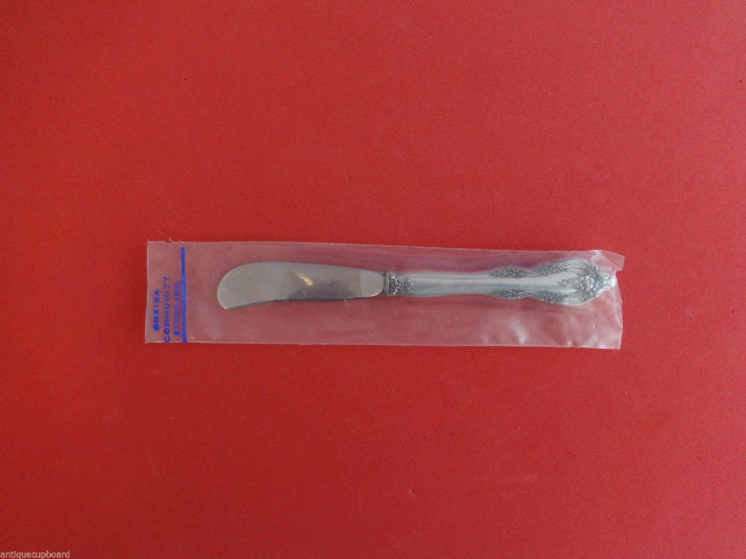 "Mediterranea by Oneida Sterling Silver Butter Spreader Hollow Handle 6 3/8"" New"