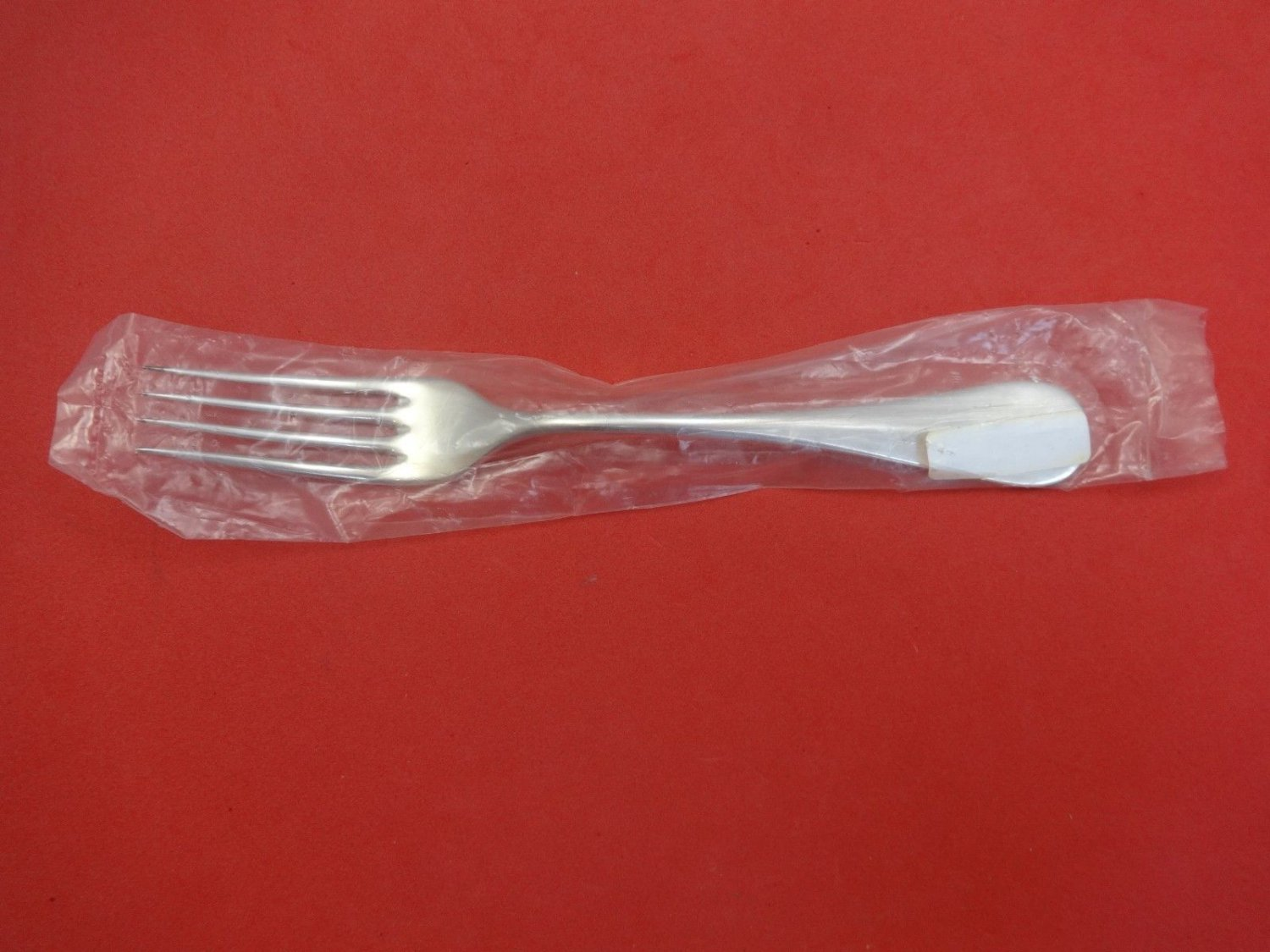 "Medallion by Cassetti Sterling Silver Dinner Fork 8 1/4"" New"