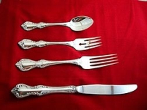 Debussy by Towle Sterling Silver Dinner Size Place Setting(s) 4pc