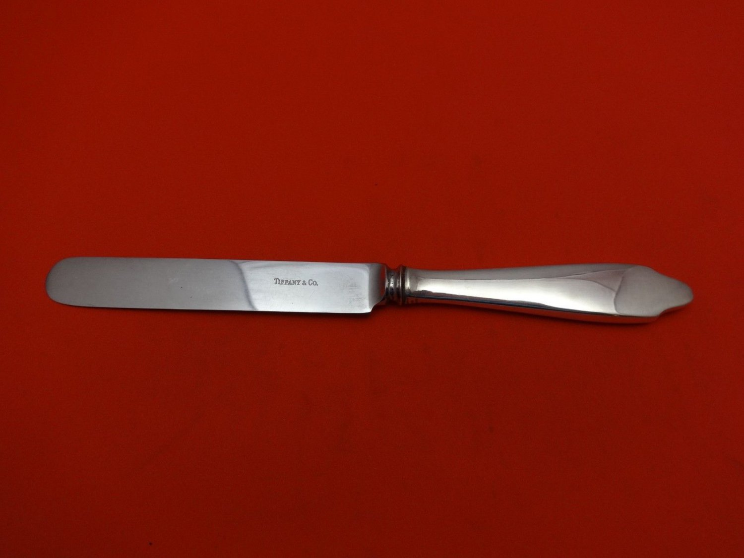 Clinton by Tiffany & Co. Sterling Silver Breakfast Knife with Stainless 7 3/4""