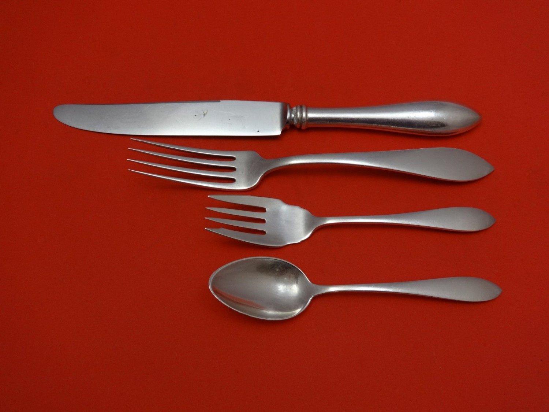 John Adams by Watson Sterling Silver Dinner Size Place Setting(s) 4pc