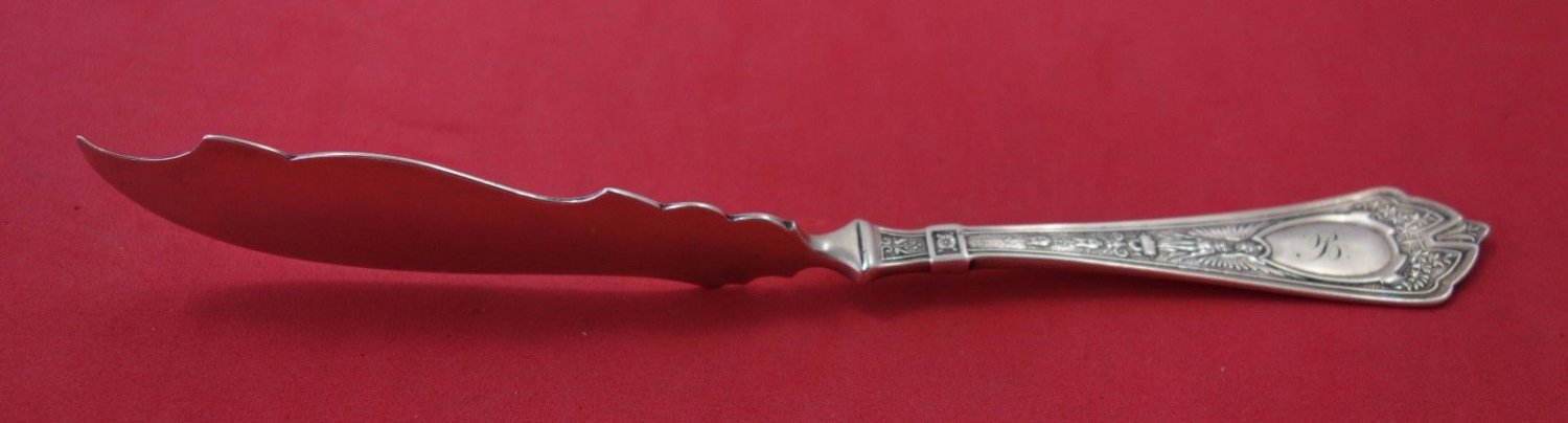 Cleopatra by Schulz & Fischer Sterling Silver Master Butter FH with Twist 7 3/4""