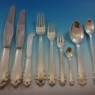 Lily of the Valley by Georg Jensen Sterling Silver Flatware Set Service 41 Pcs