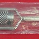 "Woodwind by Reed and Barton Sterling Silver Cheese Grater 9 5/8"" New"