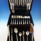 Rambler Rose by Towle Sterling Silver Flatware Set 8 Service 63 Pcs Dinner Size