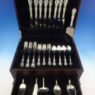 Chateau Rose by Alvin Sterling Silver Flatware Set 8 Service 38 Pcs Dinner Size