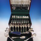 Alexandra by Lunt Sterling Silver Flatware Set For 12 Service 64 Pieces