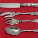 Carnation by Wallace Sterling Silver Regular Size Setting(s) 4pc