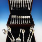 Grand Victorian by Wallace Sterling Silver Flatware Set For 12 Service 54 Pieces