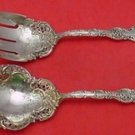 Regent by Durgin Sterling Silver Vegetable Serving Set Brite-Cut 9 5/8""