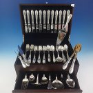 Old Mirror by Towle Sterling Silver Flatware Service For 12 Set 86 Pieces