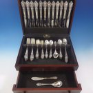 Eloquence by Lunt Sterling Silver Flatware Service Set 74 Pieces Dinner Size 12