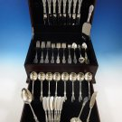 Valenciennes by Manchester Sterling Silver Flatware Service For 8 Set 60 Pieces
