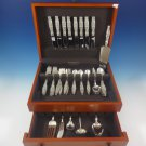 Lily of the Valley by Whiting Sterling Silver Flatware Set For 8 Service 48 Pcs