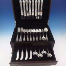 Orleans by Watson Sterling Silver Flatware Set Service Dinner Size 56 Pcs Rare