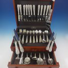 Repousse by Kirk Sterling Silver Flatware Set For 12 Service 89 Pieces