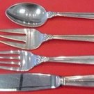 Royal Danish by International Sterling Silver Regular Size Place Setting(s) 4pc