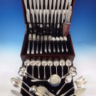 Lyric by Gorham Sterling Silver Flatware Dinner Service For 12 Set 101 Pieces
