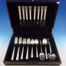 Madrigal by Lunt Sterling Silver Flatware Set For 8 Service 43 Pieces