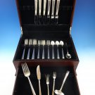 Modern Classic by Lunt Sterling Silver Flatware Set For 6 Service 30 Pieces