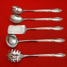 Rhapsody New by International Sterling Silver Hostess Set 5pc HHWS  Custom Made