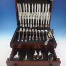 Cactus by Georg Jensen Sterling Silver Flatware Set For 12 Service 77 Pieces