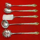 Medici New Golden by Gorham Sterling Silver Hostess Set 5pc HHWS  Custom Made