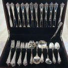 Rondelay by Lunt Sterling Silver Flatware Service Set 54 Pieces Service For 12