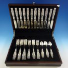 Lily of the Valley by Whiting Sterling Silver Flatware Service Set 48 Pcs Dinner