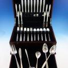 Gossamer by Gorham Sterling Silver Flatware Set For 8 Service 54 Pieces Modern