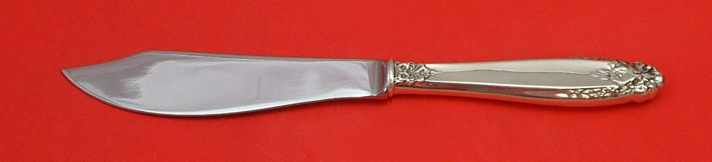 Prelude by International Sterling Silver Fish Knife Individual Custom 8 1/4""